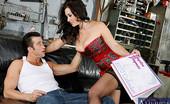 Naughty America Jayden Jaymes 32881 Jayden Jaymes rides a big fat cock