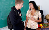 Naughty America Persia Pele Ms. Pele gives one of her students a memorable lesson in how to properly fuck the teacher.