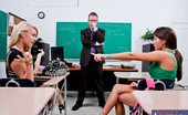 Naughty America Tegan Summers Two young and sexy students fuck their teacher