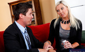 Naughty America Skylar Price Sklyar Price gets fucked hard at the office