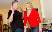 Naughty America Mellanie Monroe Mellanie Monroe calls over he young contractor to ride his innocent cock.