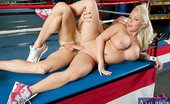 Naughty America Angel Vain Angel Vain fucks a big cock in the boxing ring