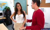 Naughty America Kortney Kane Gorgeous Kortney Kane fucks one of her students and they have hot sex on her desk.