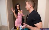 Naughty America Kendall Karson 33356 Gorgeous brunette Kendall Karson fucks her boyfriends son after shopping.