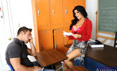 Naughty America Romi Rain Busty teacher Romi Rain wakes up sleeping student so he can fuck her pussy on her desk.