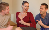 Naughty America Vanessa Videl Vanessa Videl gets fucked by two guys both who are friends with her son.