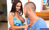 Naughty America Ava Addams Ava Addams shows guy his new place and decides to fuck him right there.