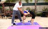 Naughty America Mia Malkova Mia Malkova works her tight body and big booty out by fucking her trainer.