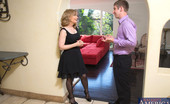 Naughty America Nina Hartley Busty Nina Hartley decides to fuck younger guy while she is alone with him.