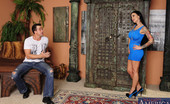 Naughty America Angelina Valentine Angelina Valentine fucks married guy and loves sucking his cock.