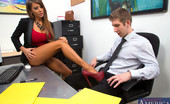 Naughty America Madison Ivy 33599 Gorgeous busty Madison Ivy decides to fuck a co worker on her desk before she is done for the day.