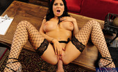 Naughty America Romi Rain Romi Rain convinces her husband to fuck her instead of work after pleading and sucking and begging.
