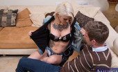 Naughty America Kleio Valentien Kleio Valentien is horny for some of her friends brother and her pussy is wet and ready for it.