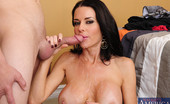 Naughty America Veronica Avluv Veronica Avluv decides to fuck one of her son's friends and ride his cock.