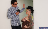 Naughty America Christy Mack Christy Mack gets fucked by her friends brother and she loves to trick him into playing rough with her.