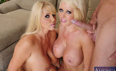 Naughty America Alura Jenson 33696 Alura Jenson & Karen Fisher have hot threesome with one lucky guy.