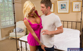 Naughty America Puma Swede Puma Swede uses her hot cougar looks to seduce younger guy to fuck her tight pussy.