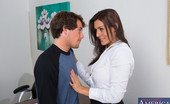 Naughty America Raylene Raylene is a hot teacher who loves to fuck her students to keep them in line.