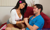 Naughty America Romi Rain Romi Rain is hot and horny but her boyfriend is gone so she fucks his best friend instead.
