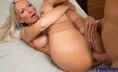 Naughty America Emma Starr Emma Starr is horny and hot cougar who decides to fuck lucky guy in her house.