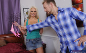 Naughty America Alexis Ford Alexis Ford is a hot and busty married wife who cheats on her husband with her friends husband!
