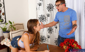 Naughty America Riley Reid Riley Reid does not want to study.   All she wants to do is fuck her friends brother as he tutors her.