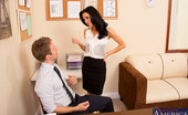 Naughty America Veronica Avluv 33800 Veronica Avluv is leaving her current employer to start her own company and she would love to bring her favorite employee with her. He's hesitant to join her, but Veronica has a special immediate bonus to help persuade him. It's not necessarily