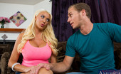 Naughty America Summer Brielle Micheal strolls over to his friends house to practice his juggling. Summer, his friend's hot mom, tells Michael that her son isn't home yet. Micheal decides to stay and juggle anyways....juggle Summer's massive tits. You see, Micheal always
