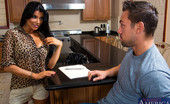 Naughty America Romi Rain Johnny is selling his car because his wife wants to economize and save money on gas. Romi wants the car but thinks Johnny's asking price is a little too much. She asks if there's any way to lower the price but, Johnny won't budge. To supple