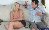 Naughty America Samantha Ryan After all these years Samantha Ryan finally gives in to her best friend's brother's requests for a date but when he shows up 45 minutes late she cancels dinner plans. Lucky for him she's been sexually frustrated and ready to fuck like a rabbit!