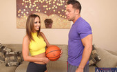Naughty America Jada Stevens Jada Stevens just got back from playing some basketball with her boyfriend's son, Johnny. Johnny is a little curious how a man as old as his dad can keep up with such a hot young thing like Jada in bed. Jada has a secret, she plays with herself when