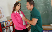 Naughty America Rilynn Rae Rilynn Rae just got promoted to Teacher's Aid. Her new position means that she can no longer date Johnny because a faculty member dating a student at the University is frowned upon. Well Johnny thinks that they should have one more fuck in celebratio
