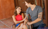 Naughty America Presley Hart Presley Hart is house sitting her friend's parent's house. Apparently Chad, her friend's brother, didn't get the message because he's also over house sitting. Presley had some big plans for that house, like calling her hot girlfri