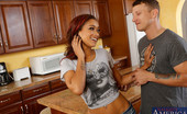 Naughty America Skin Diamond 33913 The sexy Skin Diamond is at her boyfriend's house washing his dishes when Pete, his best friend, comes into the kitchen baffled that she's doing such a thing. She just thought she was doing a nice thing for a her boyfriend because he's so b