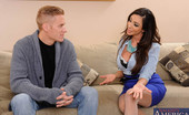 Naughty America Ariella Ferrera 33915 Ariella Ferrera really wants her daughter's new boyfriend, Chad, to leave her daughter alone. He's too much of a distraction for her daughter. When he's around her daughter can't properly concentrate on her ballet. Ariella really wants