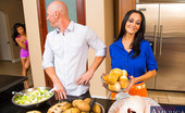 Naughty America Romi Rain Johnny and Romi came over to Johnny's friend's place to celebrate Thanksgiving with his family. Ava is already in the kitchen prepping the food while her son has went to the store to gather some last minute things. Ava thanks them for wanting to