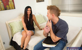 Naughty America India Summer India Summer went back to school after not attending for years. I guess you could say that makes her the cougar of the classroom and she's definitely on the prowl. She invites the teacher's aide, Bill, over to her place because she needs help st