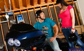 Naughty America Eva Karera Johnny is giving his friend's mom, Eva Karera, a ride home on his motorcycle. The vibration of the bike got Eva really excited. She could feel the vibration up her pussy and her tits throughout the entire ride. Now that she's home she wants John