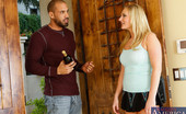 Naughty America Payton Simmons Payton has been interested in her friend's brother Karlo. Karlo's sister set them up to spend some time together at Payton's house. Payton greets Karlo awkwardly at the door and invites him in. They have a seat on the couch six feet away fr