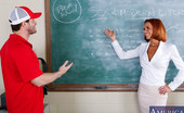 Naughty America Veronica Avluv Preston is substituting a class for Veronica Avluv. The problem is that Preston is just a coach and Veronica's class is about sex & modern literature. Preston doesn't think he's qualified to teach that topic, but Veronica is confident t