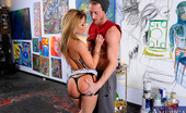 "Naughty America Sheena Shaw 34084 Sheena Shaw visit's her boyfriend's son's,Ryan's, art studio to see where all her boyfriend's money is going to. She confronts Ryan about all his dad's money he's blowing on his ""art"". Ryan fires back calling h"
