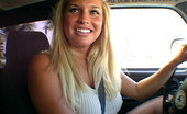 Bang Bus Jamie took all Dave\'s load in her chunky lips.