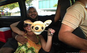Bang Bus 16 pics of the hottest double team youll ever see. Watch these 2 prey on unsuspecting guys who of course get fucked