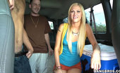 Bang Bus Lucky us because there was no way Tara could deny the nice gesture. She might get on because of the rainstorm, but Tara Lee is a FREAK and she gets off on our two boys right away