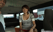 Bang Bus  to do what i do best! So I approach the cutie and she's really shy and weird and artsy but we get to talking and she starts opening up a little bit more.