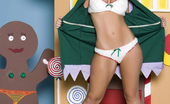 Penthouse Jessica Lynn Jessica Lynn promotes the Christmas spirit year-round, especially since she relishes playing the naughty and nude Santa's helper elf with her special holiday dildo!