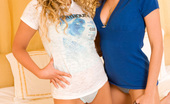 Penthouse Alisha King and Prinzzess It's a tangle of blonde curls and round curvy hips and boobs as Alisha King and Prinzzess get together in each other arms and lips for some of the hottest girl-girl sex you've ever seen!
