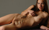 Met Art Selene B Gelosia by Slastyonoff Brunette gets completely nude and checks the tickle factor.
