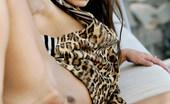 Met Art Carina A Infinitea by Luca Helios Carina sporting a leopard vest.
