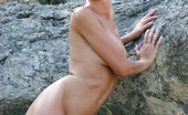 Met Art Marina M Turista by Max Stan Marina goes rock climbing revealing her long legs and medium sized breasts in the great outdoors.